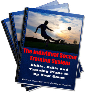 New Soccer Training eBook Complete and Up for Sale